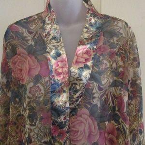 Victoria's Secret sheer wrap/robe One Size